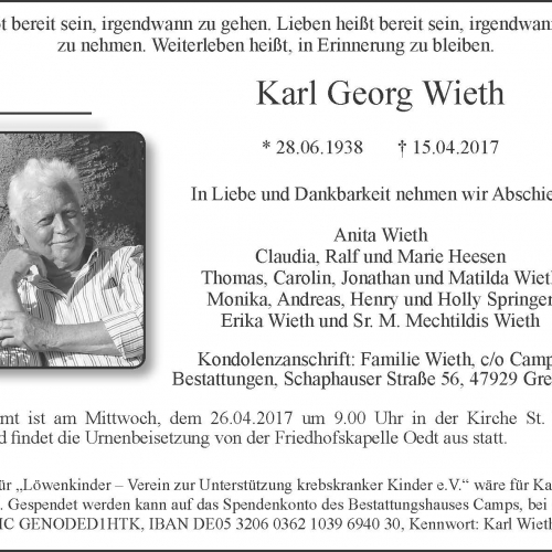 Karl Georg Wieth