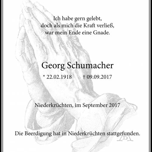 Georg Schumacher