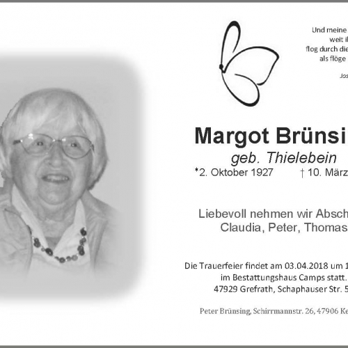 Margot Brünsing